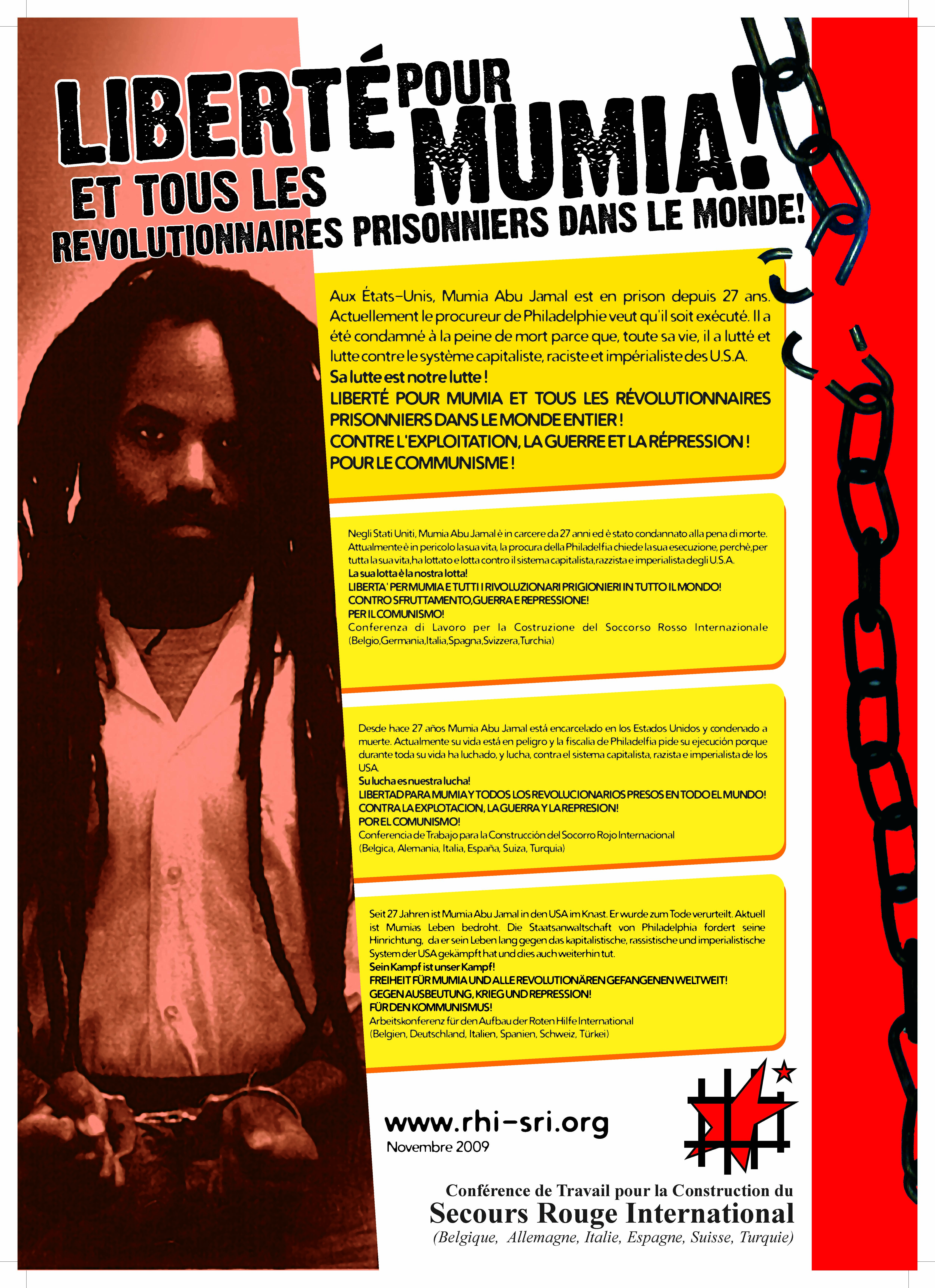 Freedom for Mumia
