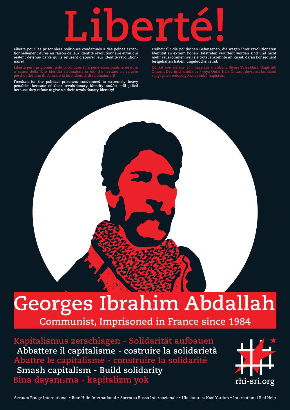 Déclaration de Georges Ibrahim Abdallah <br>le samedi 22 octobre à Lannemezan
