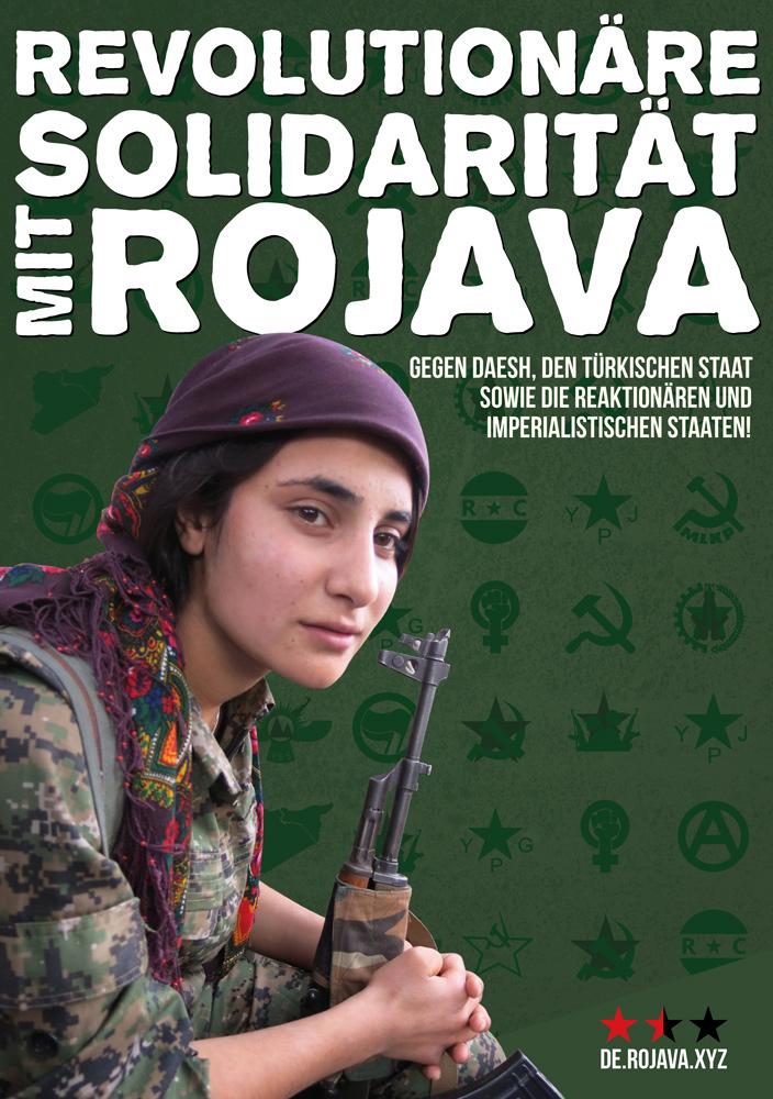 Salutations du MLKP à l'occasion du 1er Mai, depuis le Rojava.