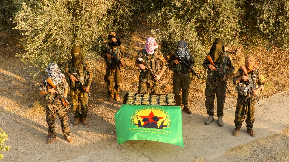 Syria/Rojava : An important amount of Our Celox has arrived on the battle front!