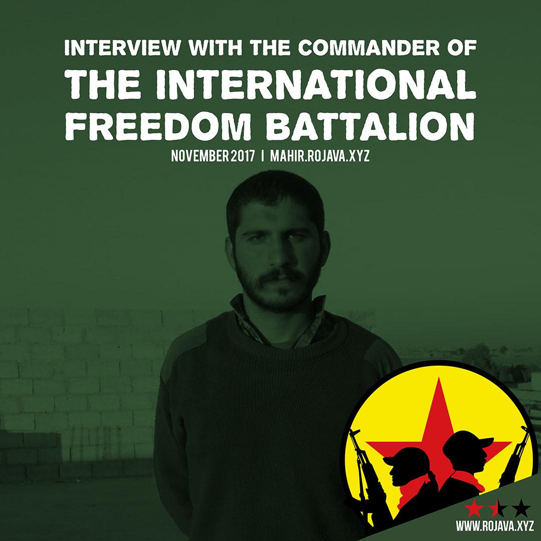 Interview mit dem IFB Kommandanten Mahir Bakirciyan