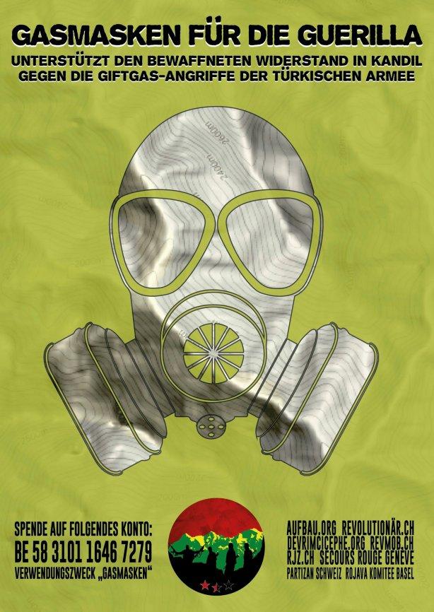 Gasmasken für die Guerilla