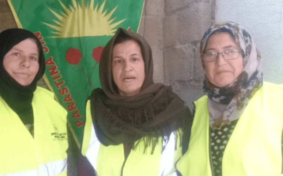 Message of solidarity from the people in Rojava to the gilets jaunes in France!