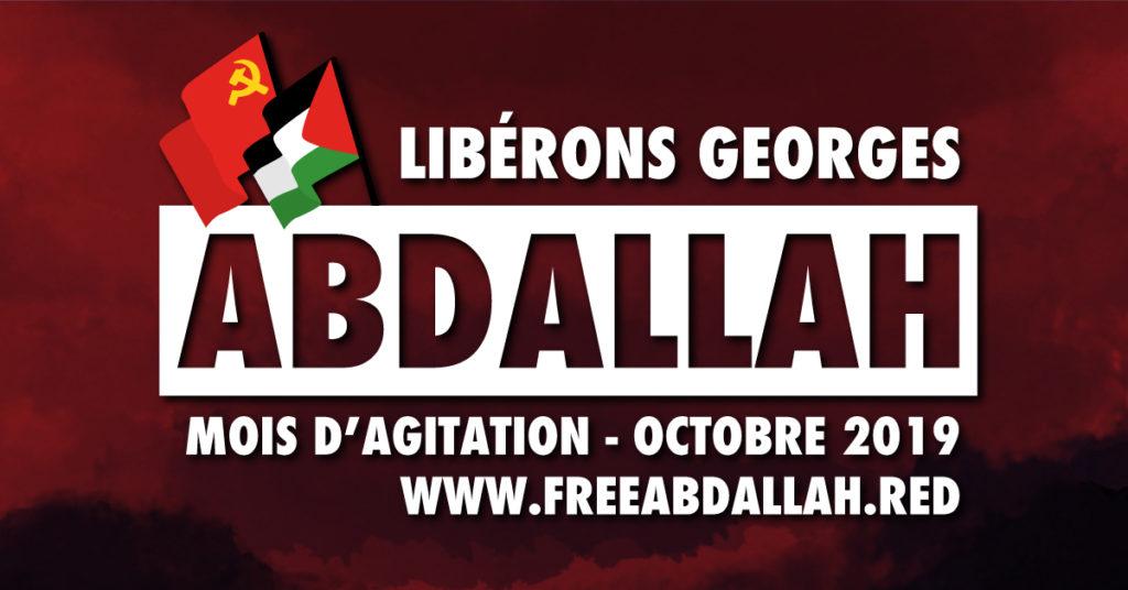 Mois d'actions pour Georges Abdallah