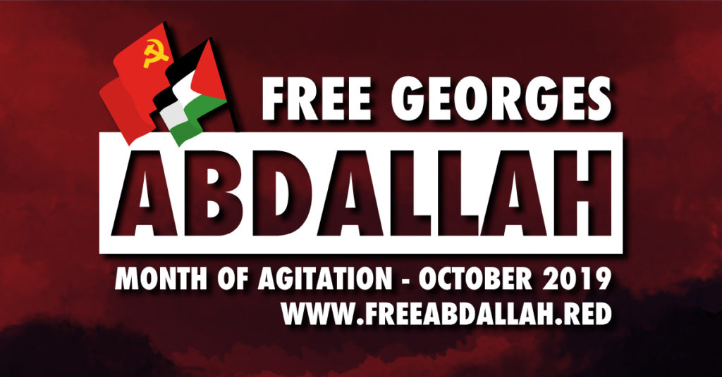 Month of actions for Georges Abdallah