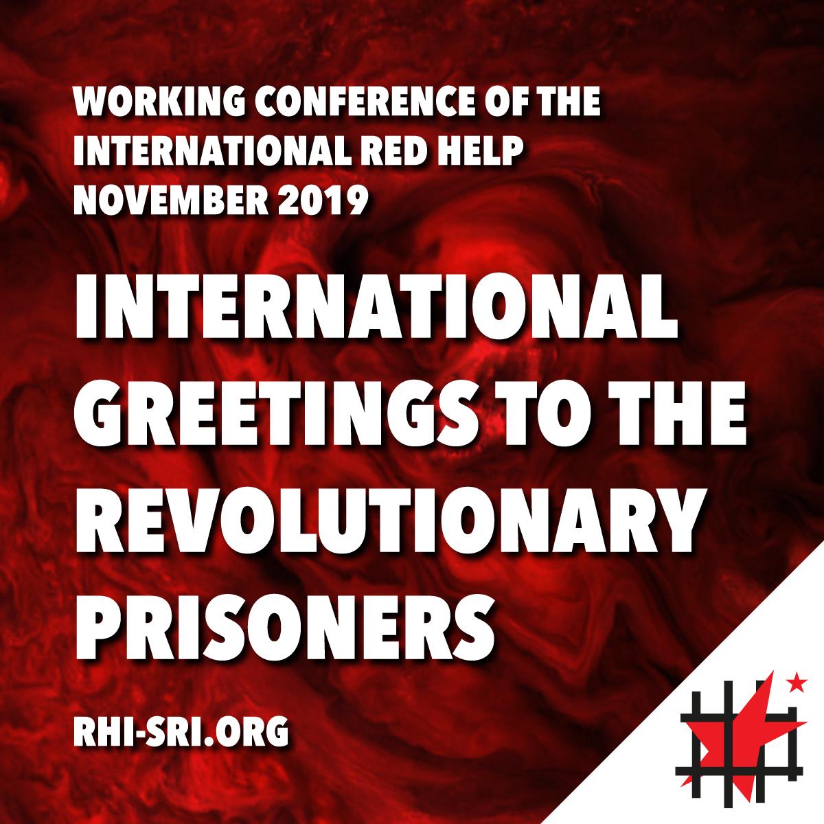 Salutations internationales aux prisonnier·e·s révolutionnaires