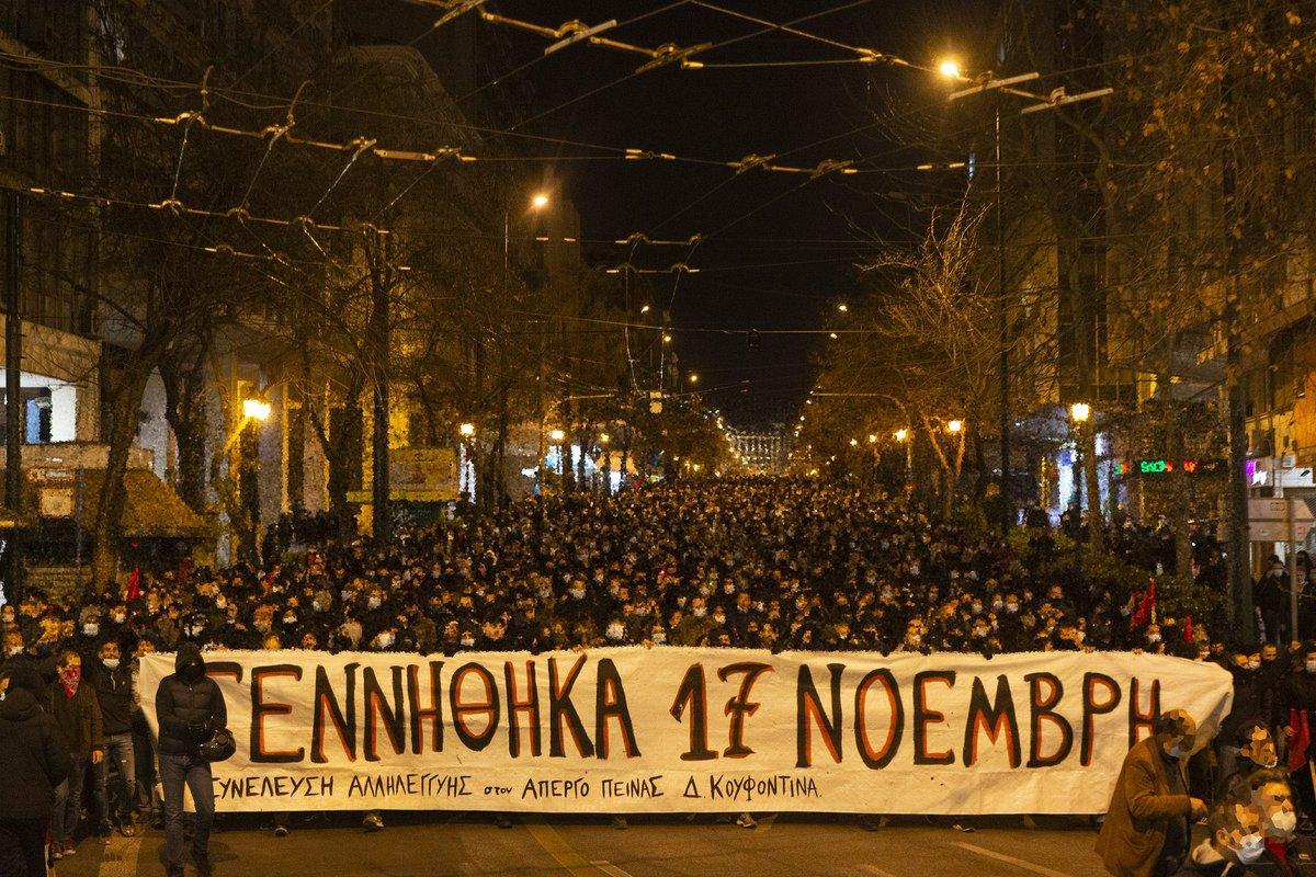 Les barricades n'ont que deux côtés : Tous et toutes avec Dimitris Koufontinas !